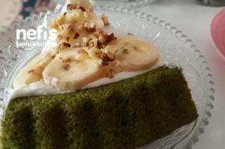 Yeşil Tart Kek (Ispanaklı) Tarifi