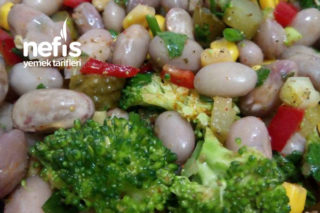 Barbunya Salatası (Farklı Tarif) Tarifi