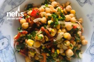 Diyet Nohut Salatası Tarifi
