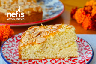 Yumuşacık Lezzetli Bademli Kek (videolu) Tarifi