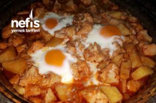 Fırında Yumurtalı Karnabahar Tarifi