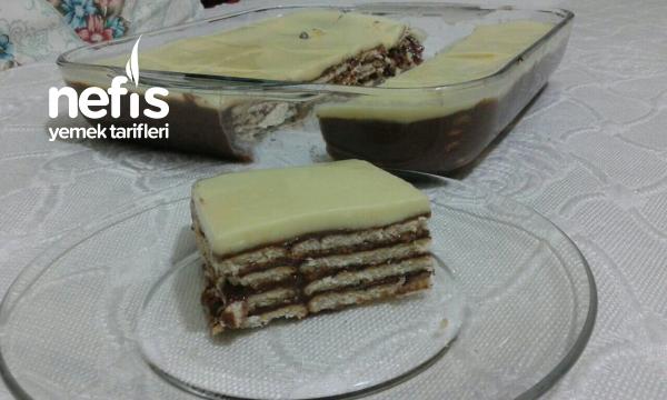 Bisküvili Pasta (çok pratik)