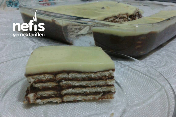 Bisküvili Pasta (Çok Pratik) Tarifi