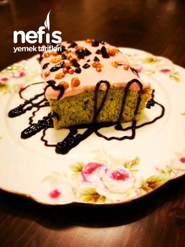Ispanaklı (yeşil) Kek