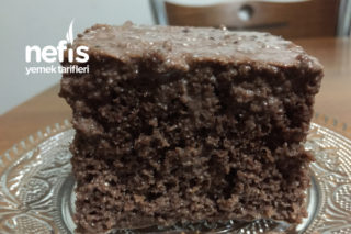 Kakaolu Kremalı Islak Kek Tarifi