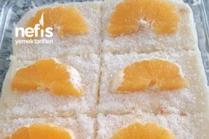 Sütlü Portakallı İrmik Tatlısı Tarifi