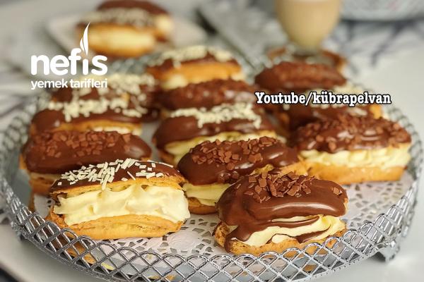 Ekler Pasta (Videolu) Tarifi