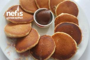 Haftasonu Kahvaltısına Altın Pankek Tarifi