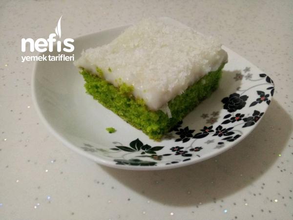 Yeşilin En Güzel Hali  (ıspanaklı Yaş Pastam)