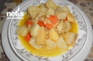 Zeytinyağlı Ayvalı Portakallı Kereviz Yemeği Tarifi