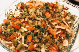 Baharatlı Köz Patlıcan Salatası Tarifi