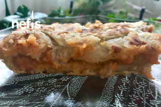 Çok Hızlı Ve Kolay Patatesli Yırtma Tava Böreği (1'e 1 Oran) Tarifi