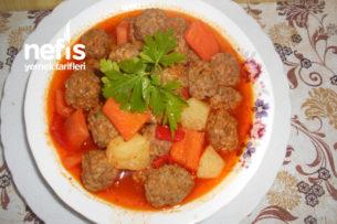 Kişnişli Bulgurlu Top Köfte Yemeği Tarifi