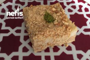 Tahinli Bisküvi Pastası Tarifi