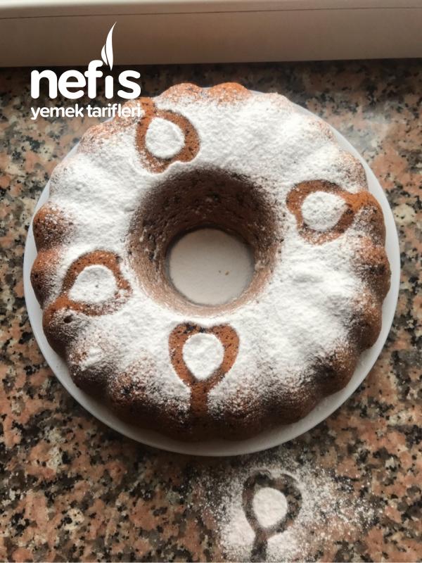 Hem Çikolatalı Hem Hindistan Cevizli Kek