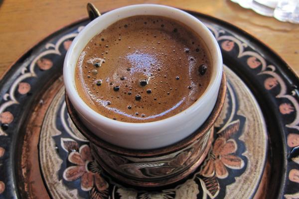 kahve peelingi