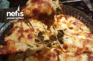 Pizzaya Rakip Beşamel Soslu Ispanak Tarifi