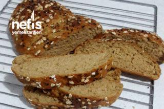 Tam Buğdaylı Yulaflı Ekmek Tarifi
