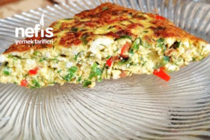 Unsuz Kahvaltılık Sebzeli Tava Böreği Tarifi