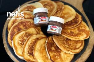 Yumuşacık Orijinal Pankek Tarifi (American Pancakes) Resimli Anlatım