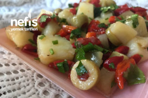 Zeytinli Patates Salatası Tarifi