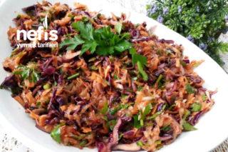 10 Dakikada Mükemmel Lezzette Kış Salatası Tarifi