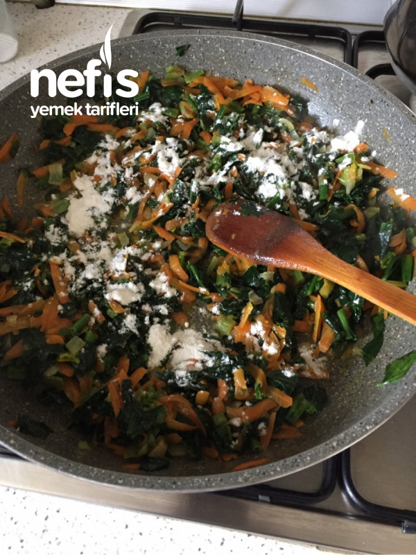 Ispanaklı Havuçlu Buğday Salatası