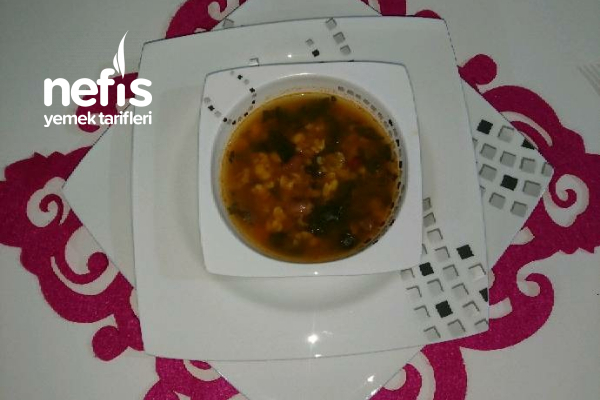 Nefis Karadeniz Pancar Çorbası (Karalahana) Tarifi