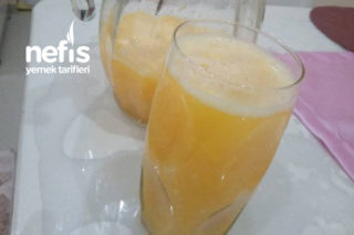 Şifa Deposu Limonlu Portakallı Meyve Suyu Tarifi