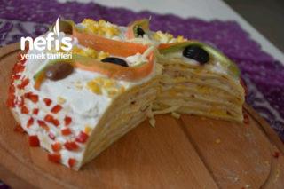 Tuzlu Krepli Pasta Tarifi