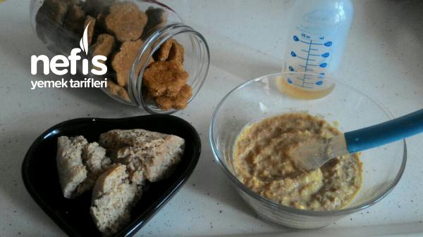 Bebeklere Kahvaltı Menüsü 8+