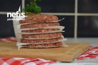 Hamburger Köftesi (Buzluk İçin) Tarifi