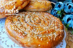 15 Dk'da Haşhaşlı Tahinli Çörek ( Hazır Yufkadan ) Tarifi