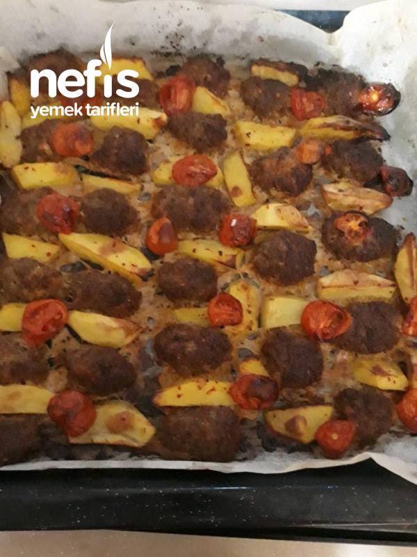 Firinda Köfte Patates