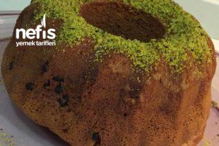 Fıstıklı Damla Çikolatalı Kek Tarifi
