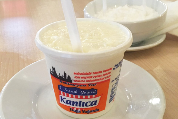 kanlıca yoğurt