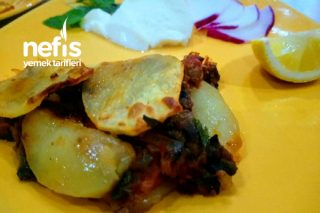 Mantarlı Patates Oturtma (Enfes) Tarifi
