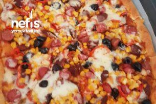 Dolgu Kenar Pizzam Tarifi
