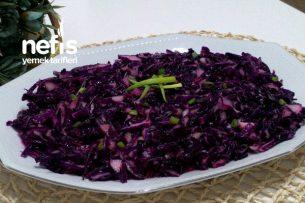 Kırmızı Lahana Salatası ( Anne Usulü ) Tarifi