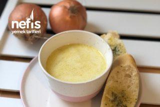Kremalı Nefis Soğan Çorbası Resimli Anlatım Tarifi