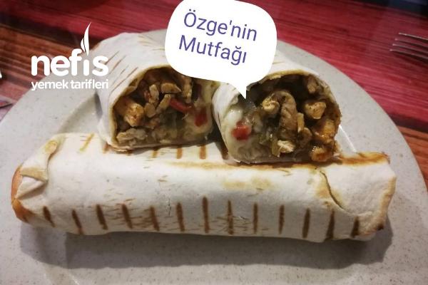 Özge'nin Mutfağından Enfes Tavuklu Wrap (Kesinlikle Denemelisiniz) Tarifi