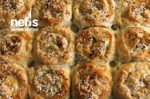 Çıtır Gül Böreği (Peynirli) Tarifi