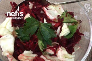 Kırmızı Pancar Ve Lahana Salatası Tarifi