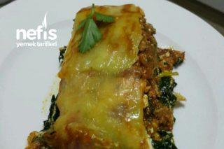 Kıymalı Ispanaklı Patates Rulosu Tarifi