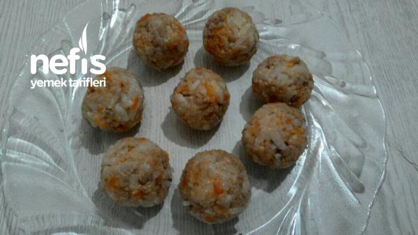 Sebzeli Kıymalı Pirinç Topları 8+