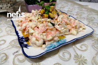Beyaz Lahana Salatası (Muhteşem Lezzet) Tarifi