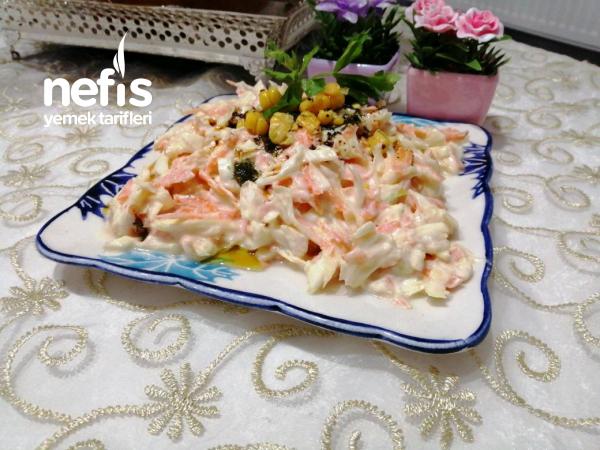 Beyaz Lahana Salatası ( Muhteşem Lezzet)