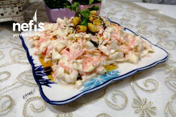 Beyaz Lahana Salatası (Muhteşem Lezzet)
