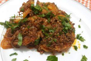 Fırınsız Patates Musakka Tarifi