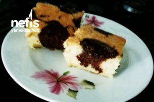 İki Renkli Nemli Kek Tarifi